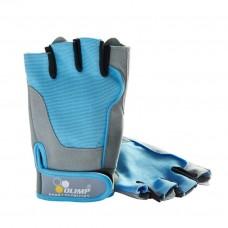 Перчатки для фитнеса женские Fitness One голубые