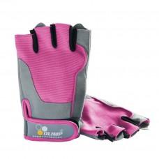 Перчатки для фитнеса женские Fitness One розовые