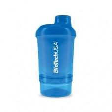 Шейкер BioTech Wave Plus Nano 300 мл+150 мл синий