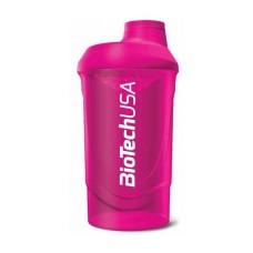 Wave Shaker BioTech USA 600 мл розовый