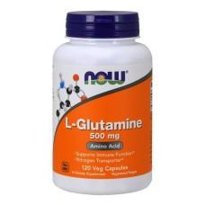 L-Glutamine 500 mg NOW 120 капс