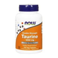 Taurine 1000 mg Double Strength NOW 100 капс