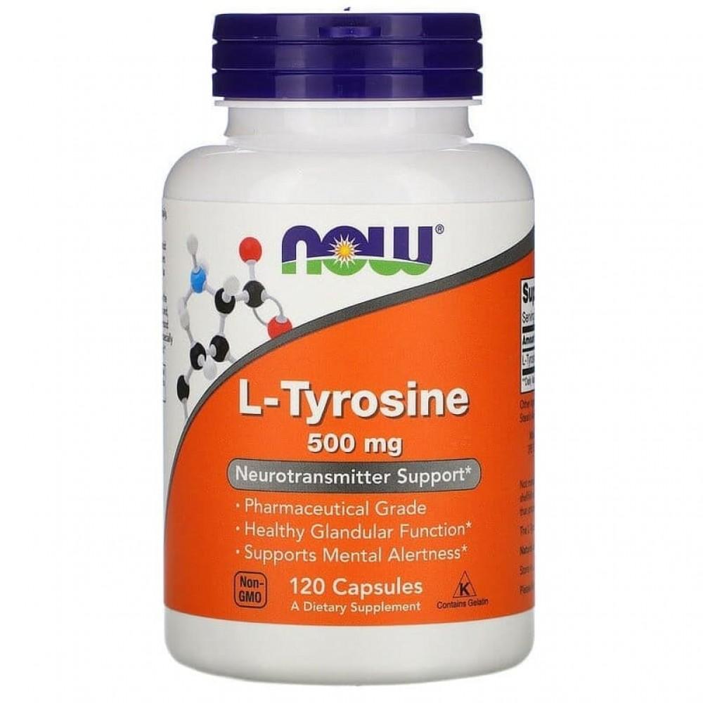 L-Tyrosine 500 mg 120 капс
