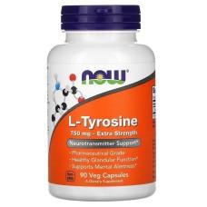 L-Tyrosine 750 mg 90 капс