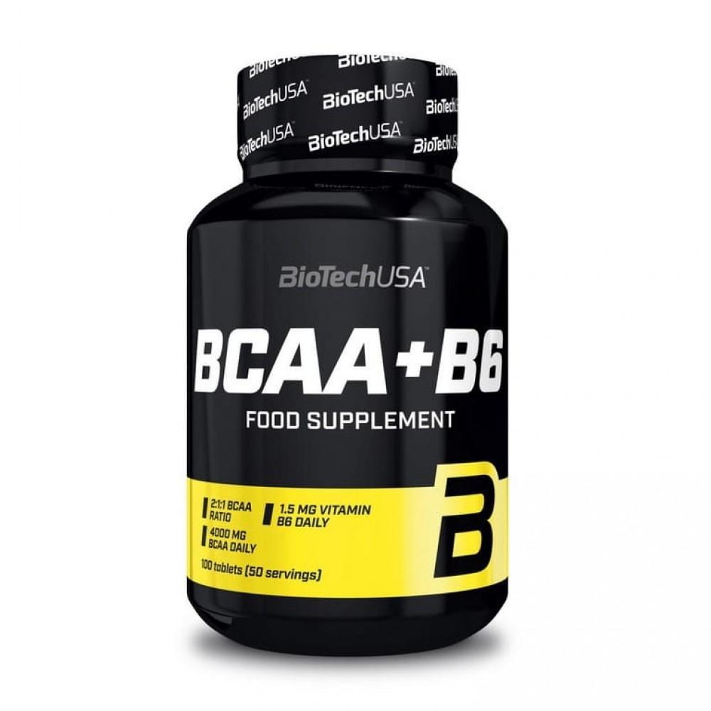 BCAA + B6 BioTech 100 табл