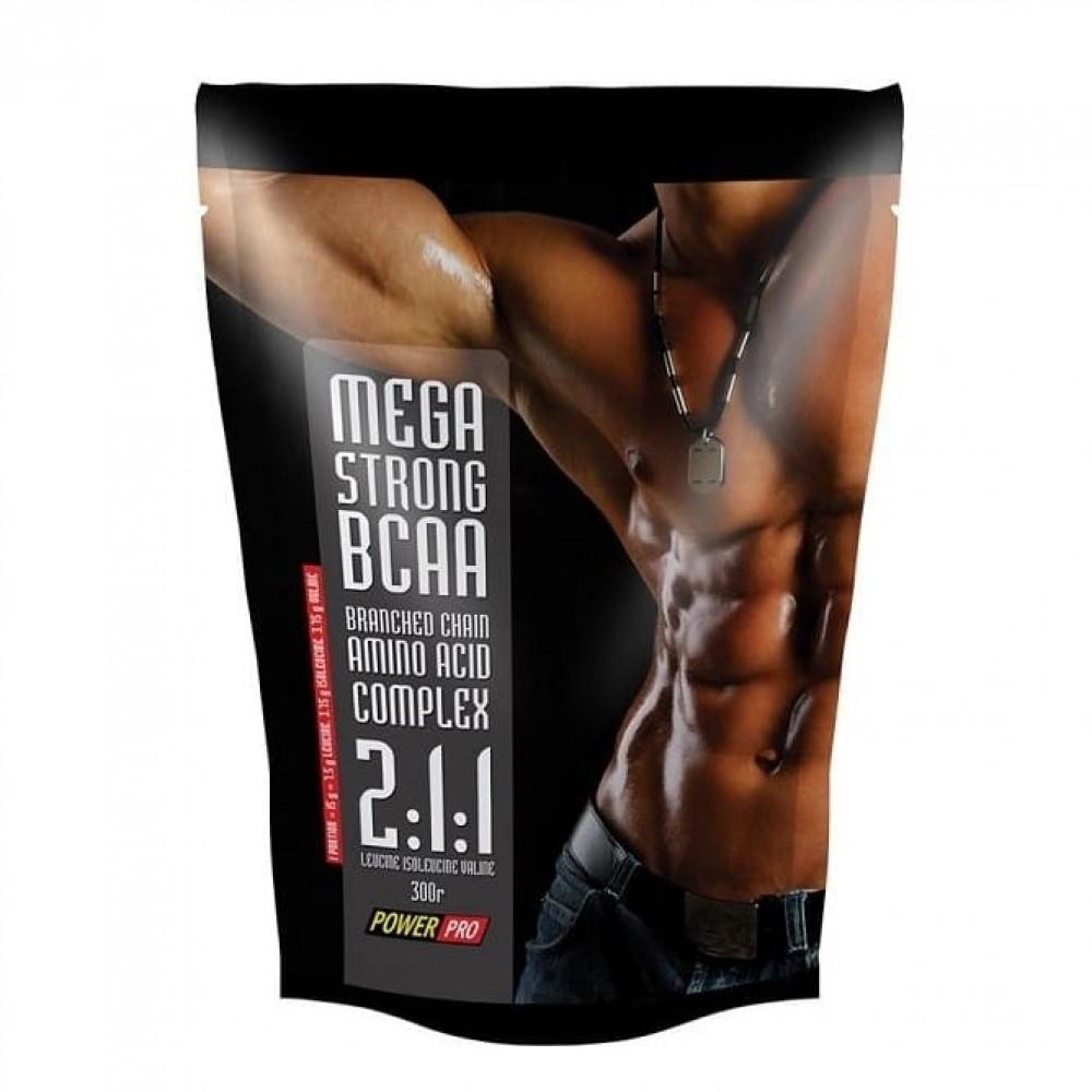 BCAA Mega Strong Power Pro 300 г