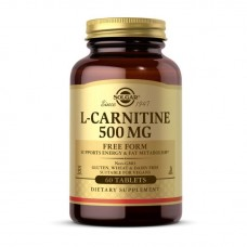 L-Carnitine Solgar 500 мг 60 таб