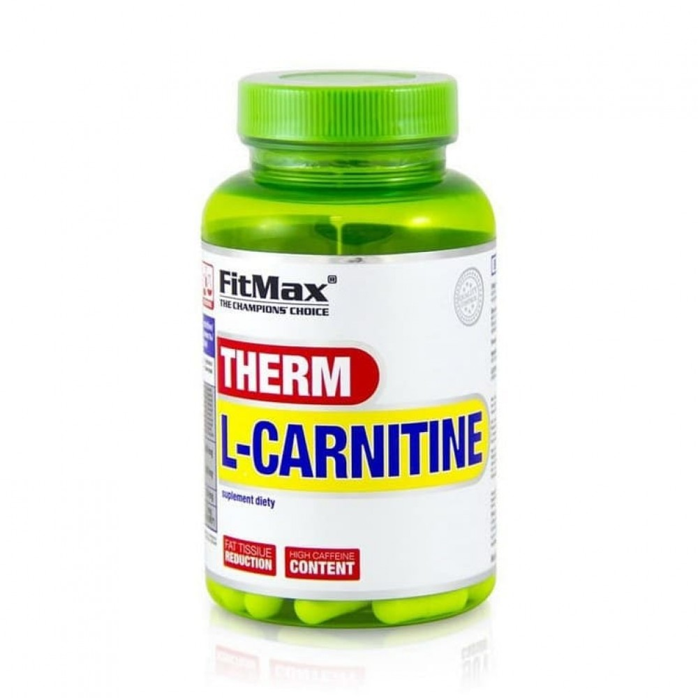 Therm L-Carnitine + caffeine FitMax 60 капс
