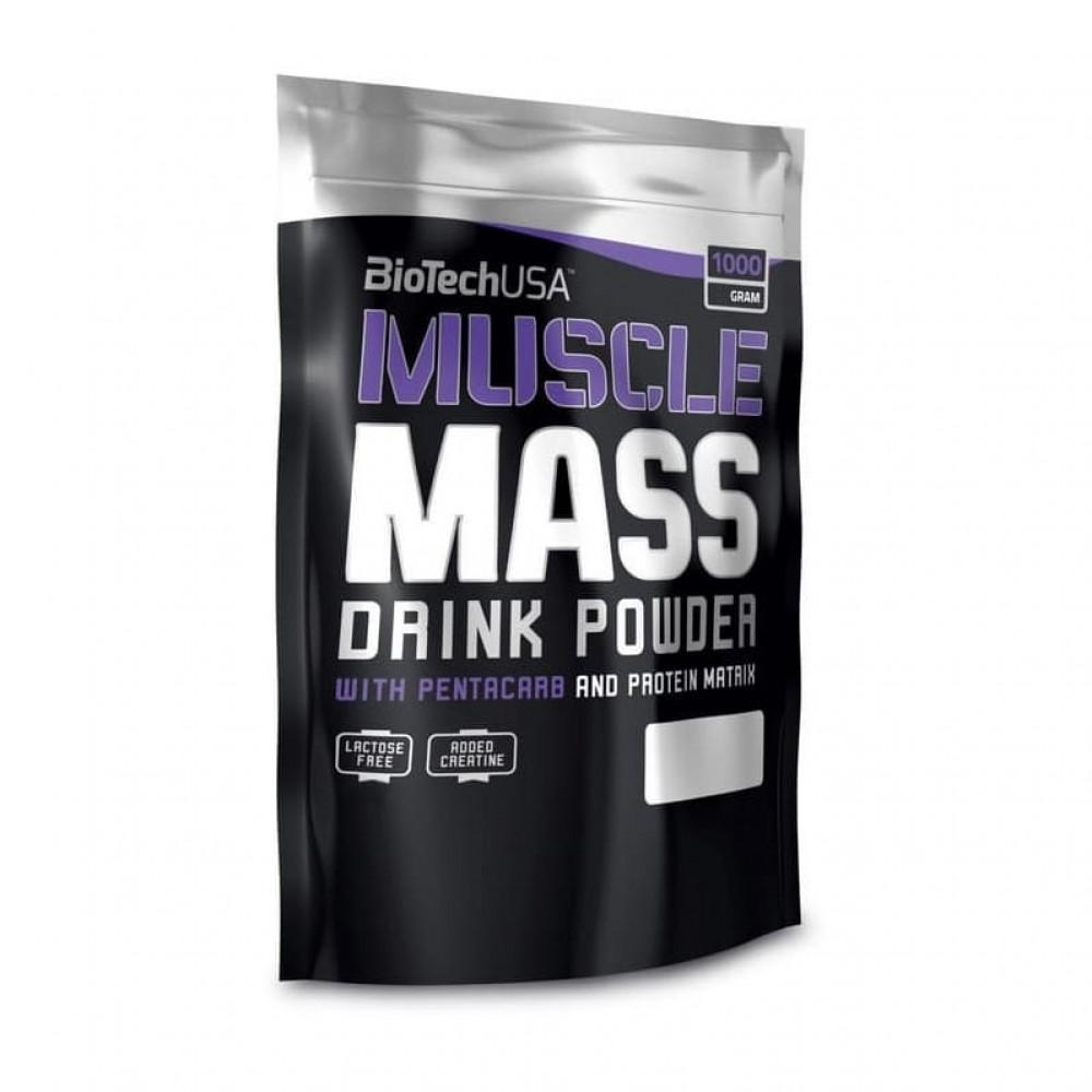 Гейнер Muscle Mass BioTech 1 кг