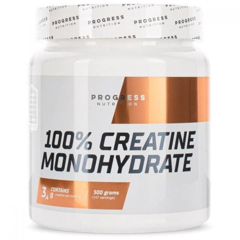 Creatine Monohydrate Progress Nutrition 500 г