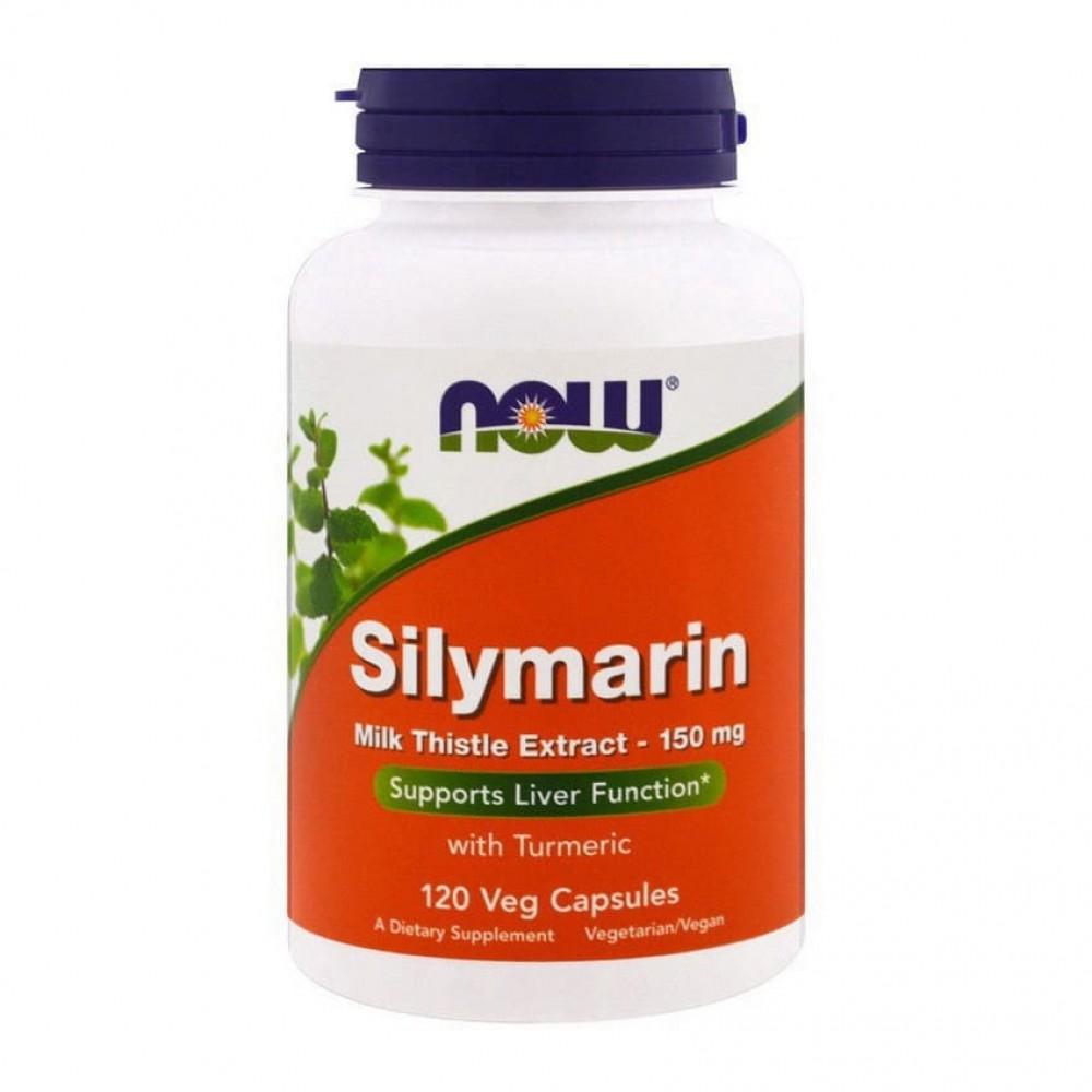 Silymarin (Силимарин) 150 mg NOW 120 капс