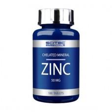 ZINC (цинк) Scitec Essentials 100 табл