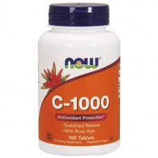 Vitamin C-1000 NOW 100 таб