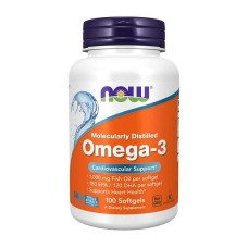 Omega-3 Now Foods 1000 мг 100 капс
