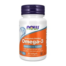 Omega-3 Now Foods 1000 мг 30 капс