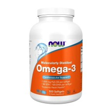 Omega-3 Now Foods 1000 мг 500 капс