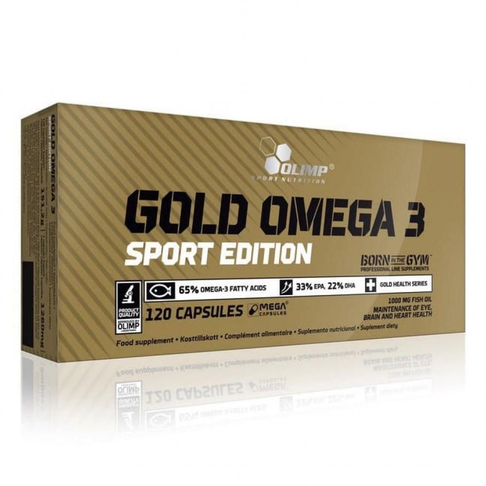 Gold Omega 3 Sport Edition Olimp 120 капс